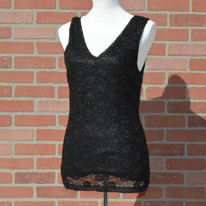 Banana Republic sleeveless black top